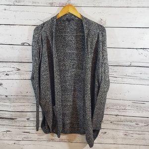 Express Black and White Sweater Size Large EUC